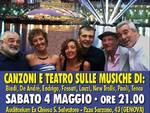 Spettacolo di musica e teatro Zena Singers Band a favore di Anvolt