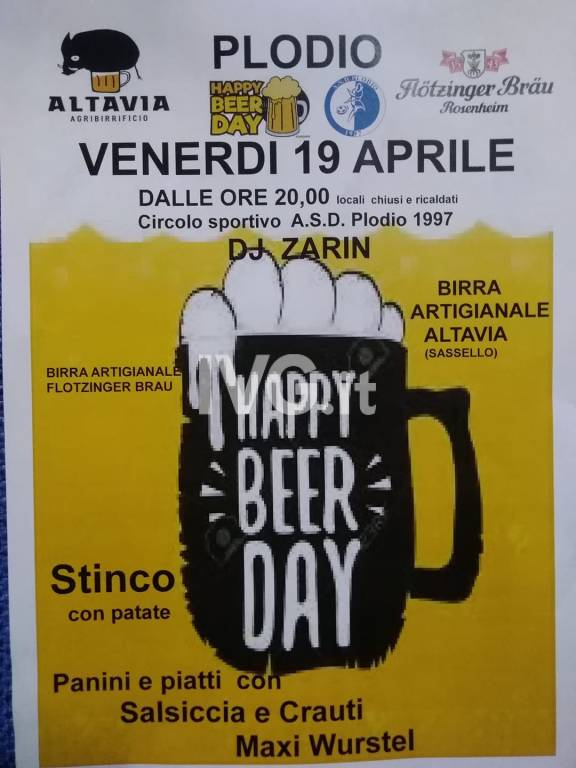 Happy Beer Day e Dance Music