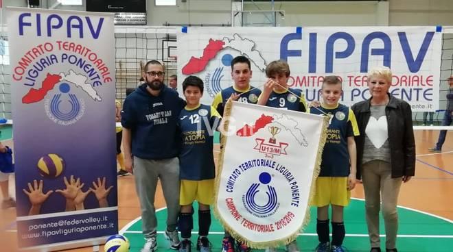Volley Team Finale - Under 13 Maschile 3x3 Campione Territoriale