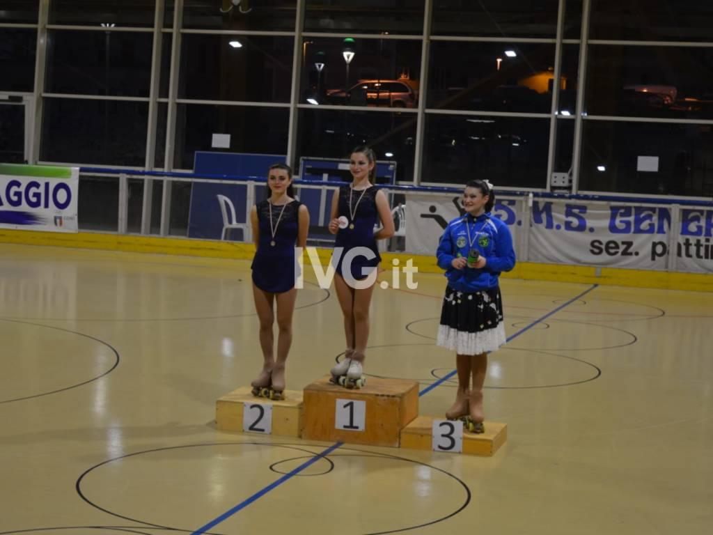 Skate Zinola 2000: Ferrero e Nolli campionesse regionali FISR di solo dance