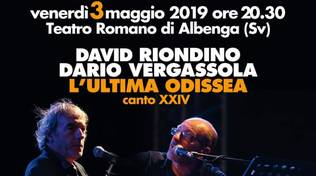 """L'ultima Odissea"" David Riondino e Dario Vergassola Albenga"