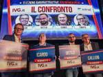 dibattito candidati sindaci albenga confronto Distilo Tomatis Calleri Icardo
