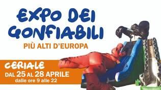 Expo dei Gonfiabili più alti d'Europa a Ceriale