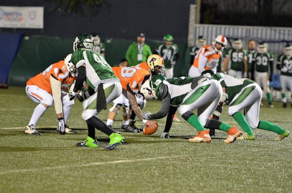 Football americano: Predatori Golfo del Tigullio vs Rams Milano