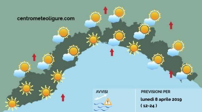 Tempo incerto per l'intera settimana Pioggia alternata a schiarite e clima fresco