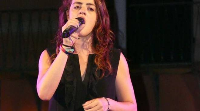 Giorgia Varriale cantante Arenzano