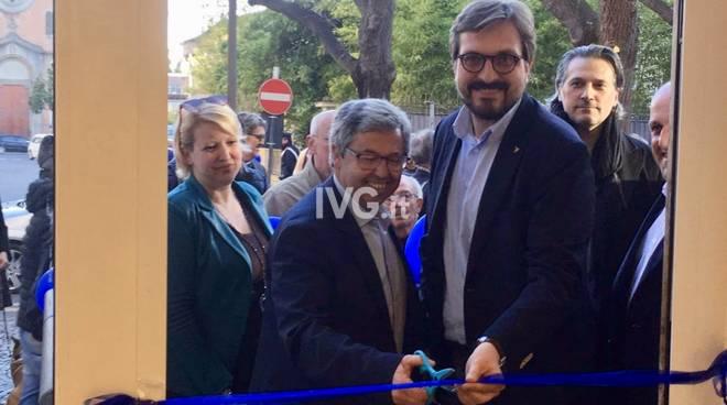 Inaugurazione del point elettorale del candidato sindaco Gero Calleri