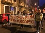 La fiaccolata del 24 aprile a Savona