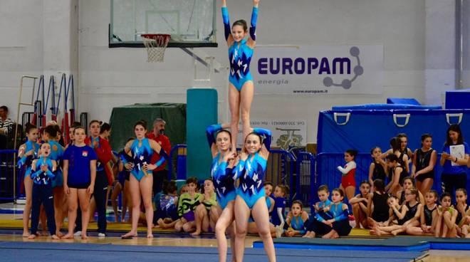 La Polisportiva AGI al campionato regionale di acrogym