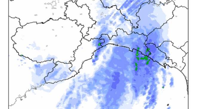 monitoraggio meteo 4 aprile, dove sta piovendo