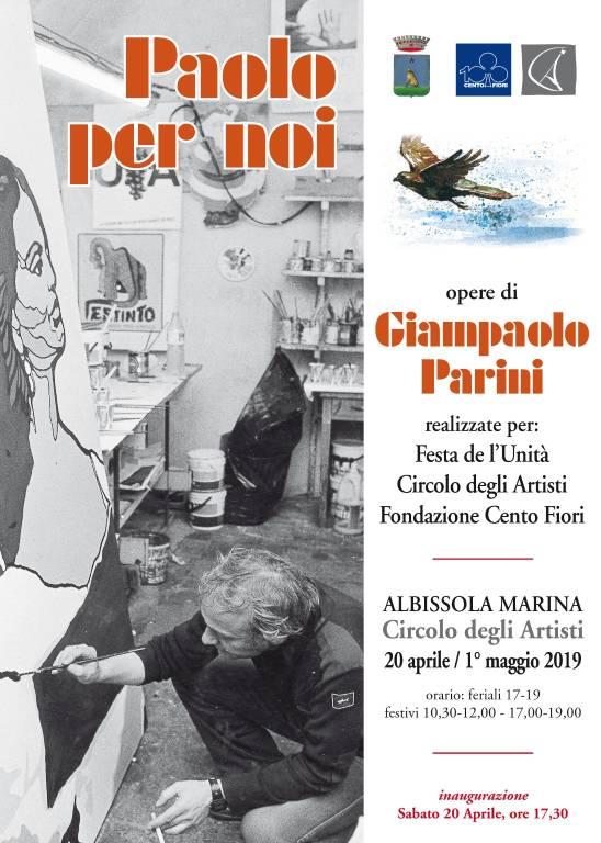 Mostra Giampaolo Parini Circolo Artisti Albissola Marina