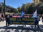 Piaggio sciopero Genova
