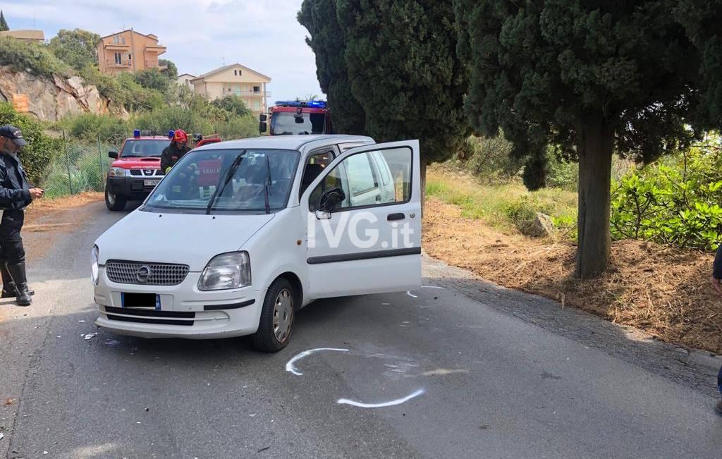 Pietra Ligure, incidente in via Paganini