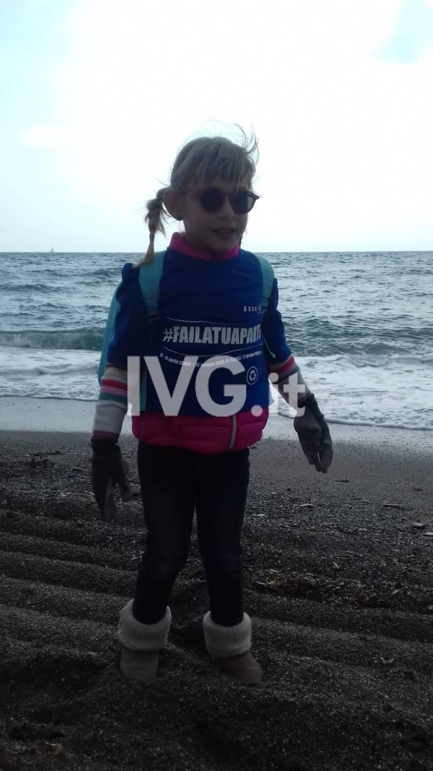 pulizia fondali spiagge Marina Diving