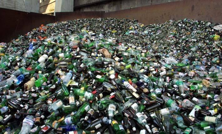 raccolta vetro riciclo