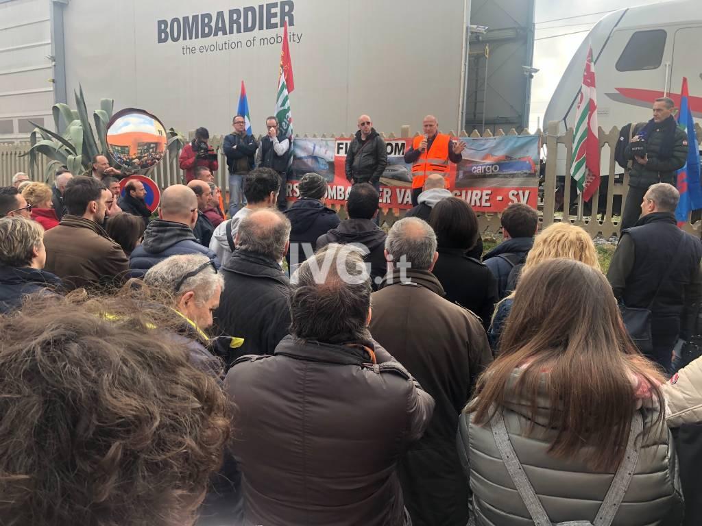 Sciopero assemblea Bombardier