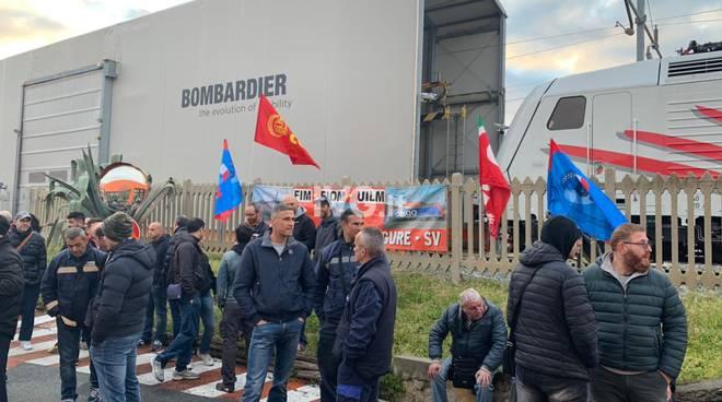 sciopero Bombardier