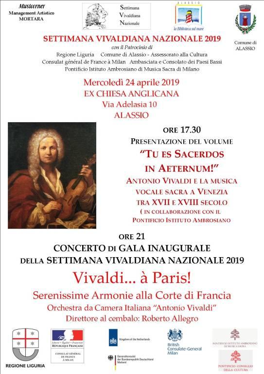 Settimana Vivaldiana Nazionale 2019 - Alassio