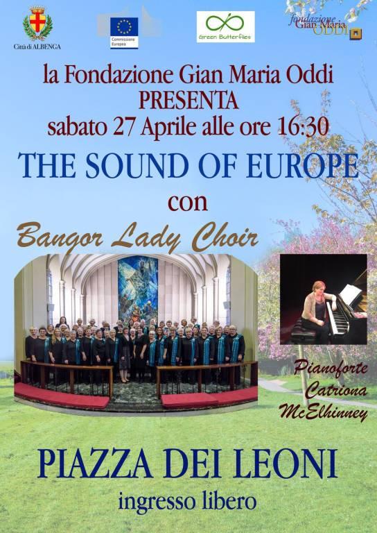 """""""The sound of Europe"""" concerto Bangor Lady Choir Albenga"""