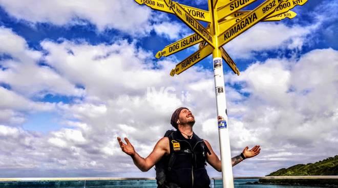 Traversata in solitaria a piedi della Nuova Zelanda: il 21enne di Loano Andrea Cibrario completa l'isola del Sud