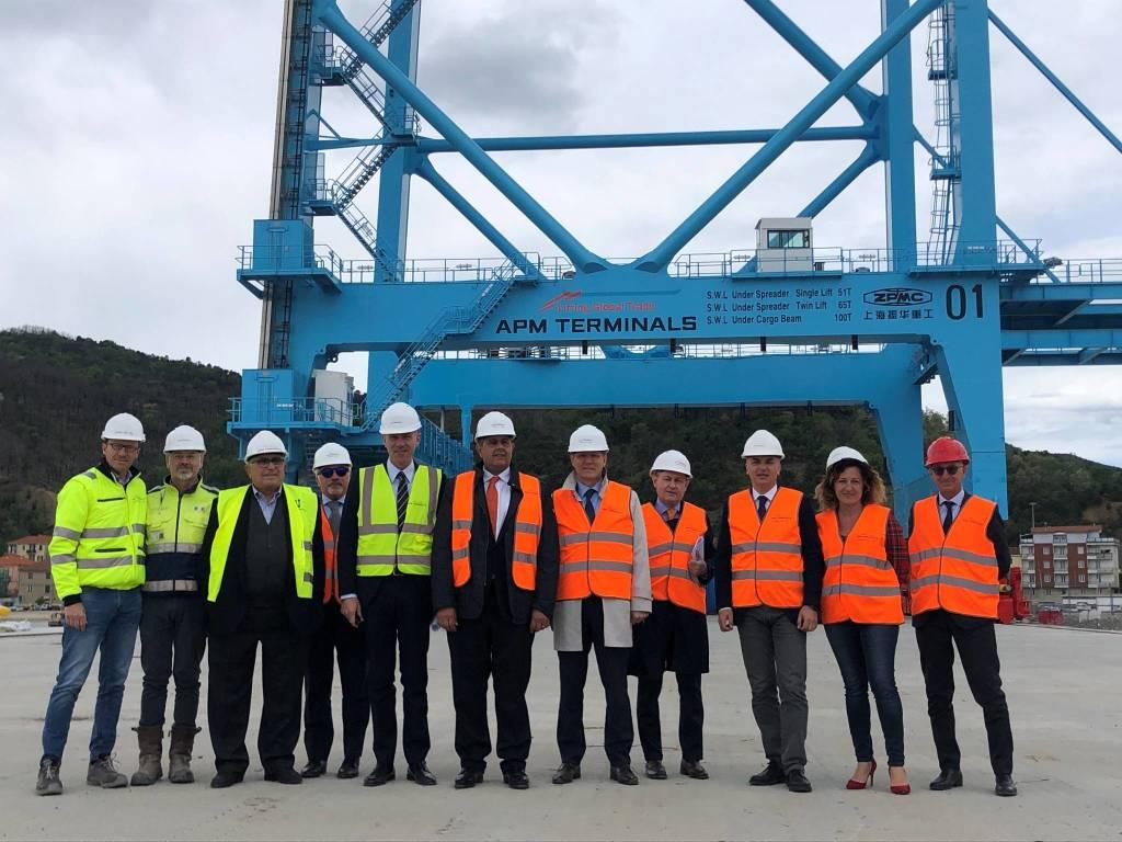 Vado, annunciata la data di apertura della piattaforma Maersk