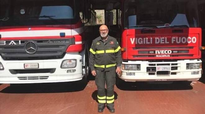 Antonio Crispino Vigili Fuoco Albenga