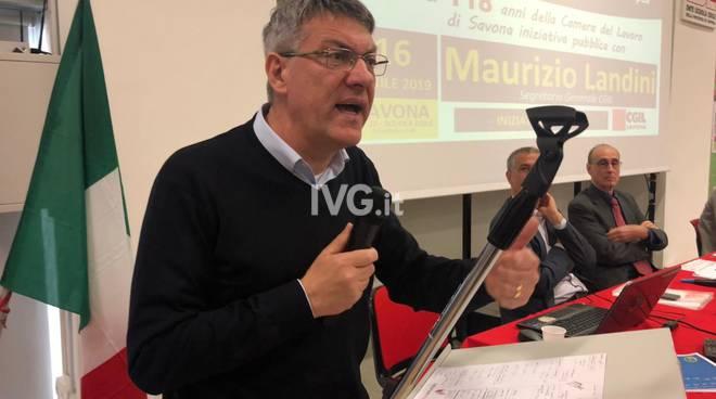 Maurizio Landini Savona