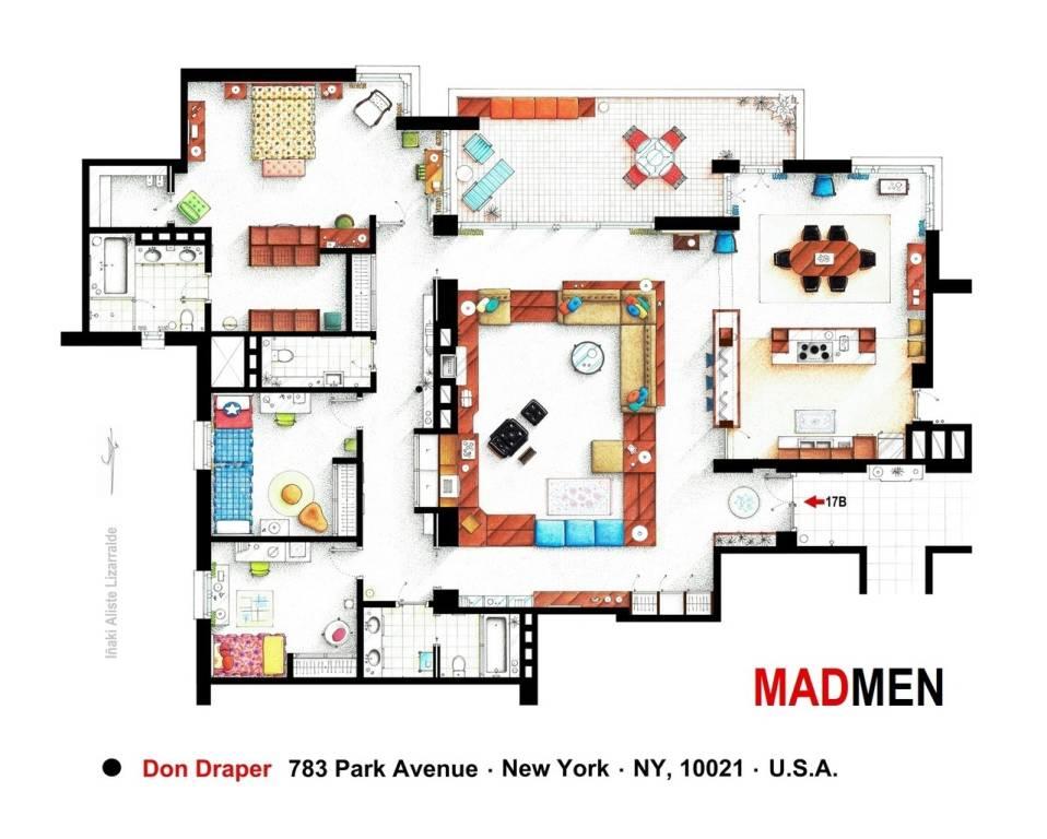 Appartamento Mad men