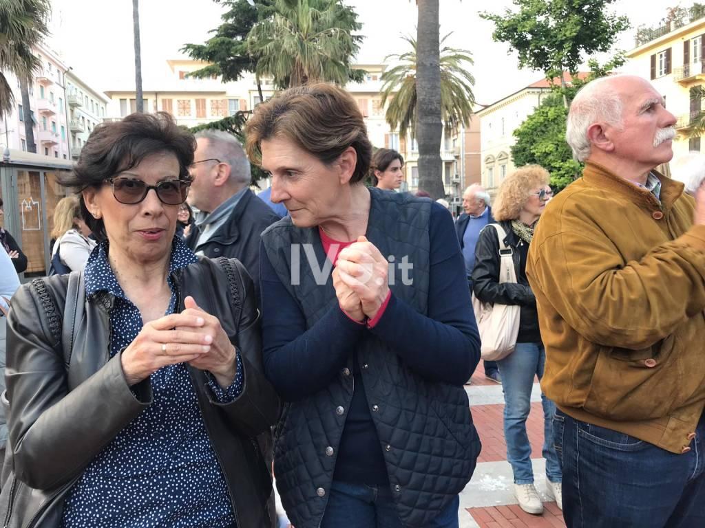 Albenga, chiusura della campagna elettorale di Riccardo Tomatis