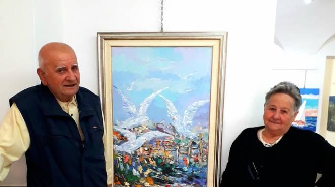 Angelino Vaghi mostra Gallery Malocello Varazze