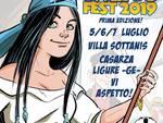 Calico Fest 2019 - fumetti Casarza Ligure