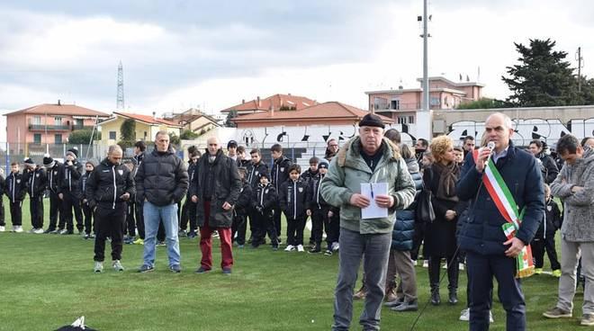 Cangiano stadio Albenga