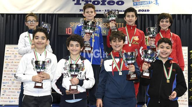 Argento ai campionati italiani di scherma per Enea Bruzzone della Leon Pancaldo