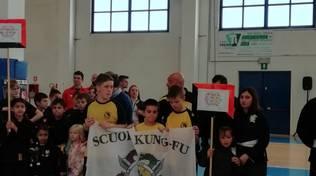 La Scuola di Kung Fu - Touei Chou alla gara nazionale Città di Saluzzo