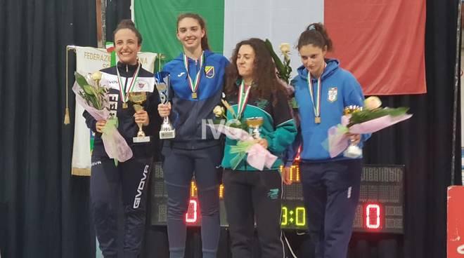 Pink Power - Immensa Carola, è sua la Coppa Italia Assoluti di Spada Femminile