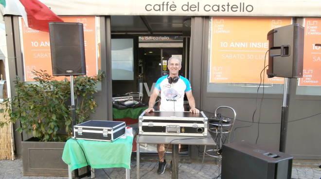 Dj set al Caffè del Castello con dj Zàrin