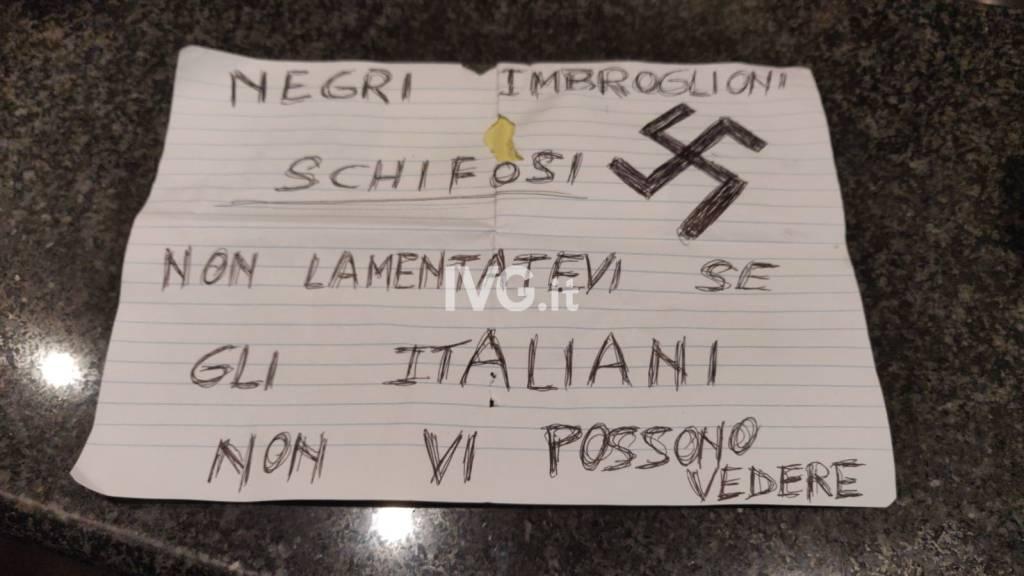 cartello razzista