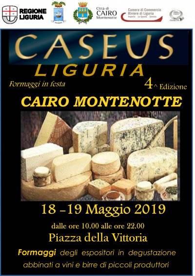 """""""Caseus Liguria - Formaggi in festa"""" Cairo Montenotte 2019"""