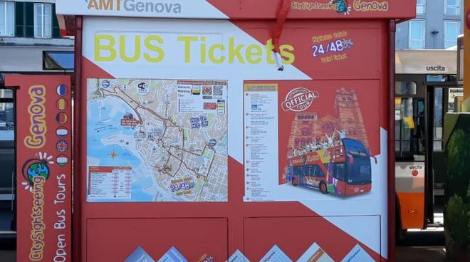 chiosco caricamento amt CitySightseeing