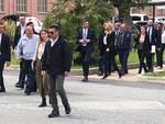 Di Maio in visita allo stabilimento Bombardier di Vado Ligure