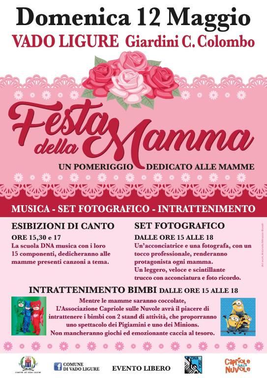 Festa della Mamma 2019 Vado Ligure
