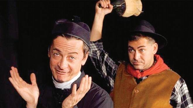 Franco Abba e Mauro Stante Don Camillo e Peppone