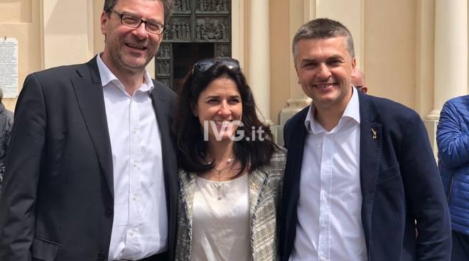 Giorgetti in Riviera per sostenere i candidati del centrodestra