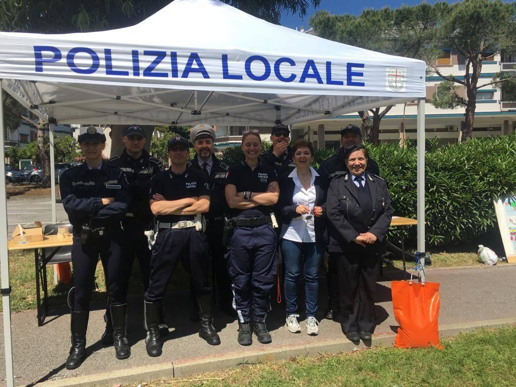 Giornata dedicata all'educazione stradale a Loano