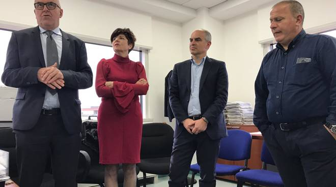 Inaugurazione sede Inps Albenga