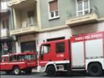 Intervento vigili del fuoco Alassio