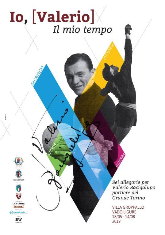 """Io, Valerio. Il mio tempo"" mostra Bacigalupo Vado Ligure"