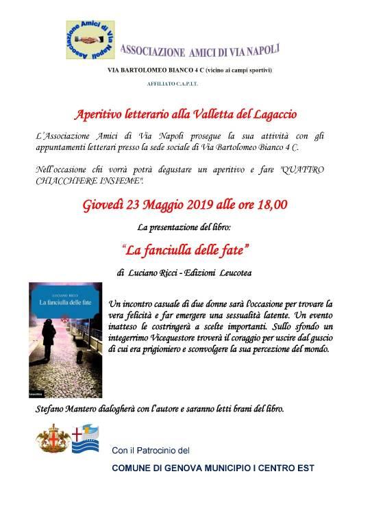 """""""La fanciulla delle fate"""" libro Luciano Ricci Genova"""