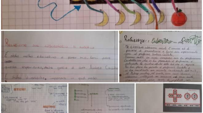"""Lezioni robotica educativa scuola media """"Martini"""" Pietra Ligure"""