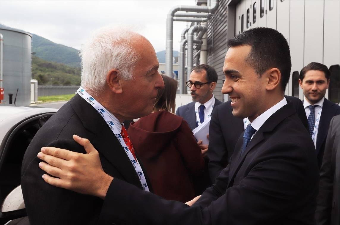 Luigi Di Maio ad Albenga